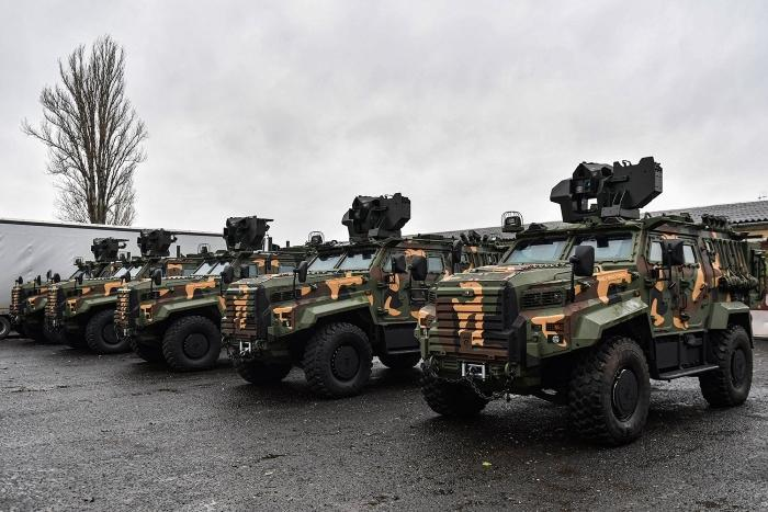 Hungarian Army receives first batch of Gidran armored vehicles from Turkey