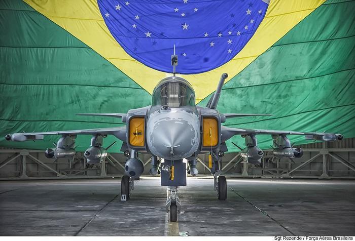 ברזיל קונה חימוש ישראלי למטוסי הגריפן