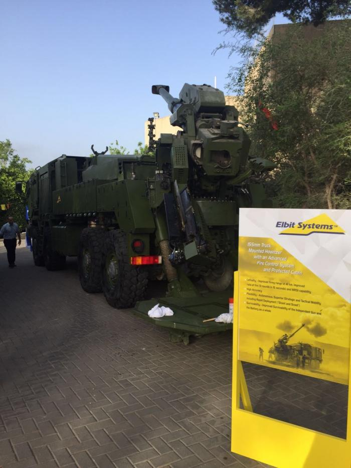 Elbit System S New Howitzer Israel Defense