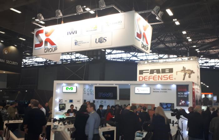 Milipol 2019: IWI Expands Presence in European Commercial Market