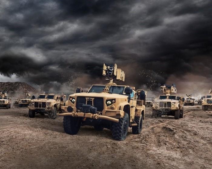 רכבי JLTV לצבא ברזיל
