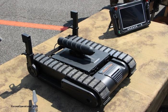 ג'נרל רובוטיקס מכרה רובוט מסוג 'דוגו' ליחידה מיוחדת בצרפת