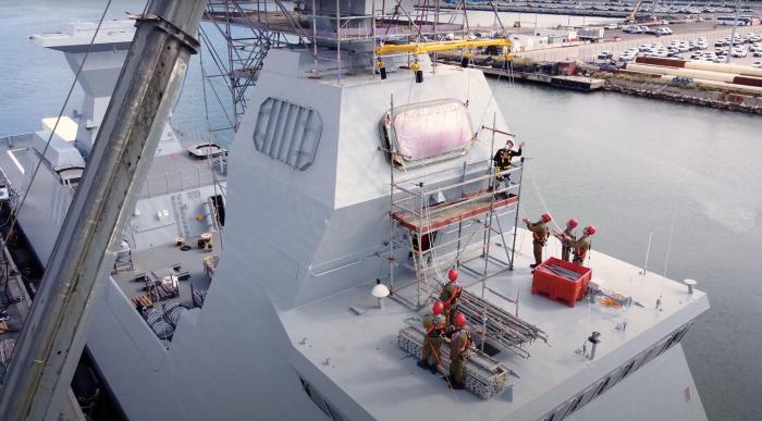 IAI installs Barak MX interceptors on Israeli Navy's Sa'ar-6 corvettes