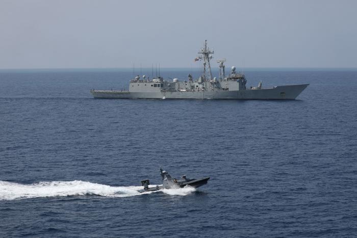 Rafael's Protector USV Conducts Successful Missile Firing Demo for NATO