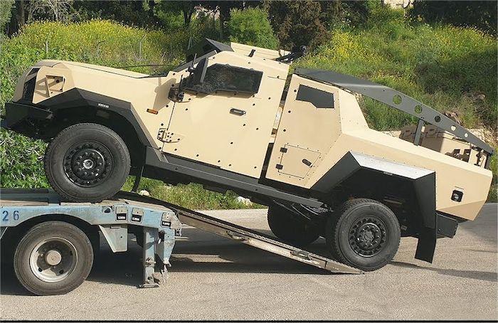 Despite Coronavirus, Israel's Plasan Delivers Mortar-Carrying Armored Vehicles