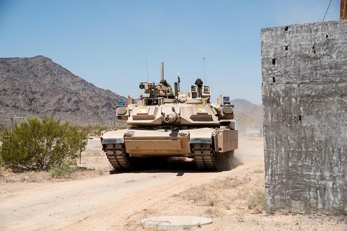 הצבא האמריקאי הזמין 274 מערכות מעיל רוח בשנת 2018 עבור טנקי אברהמס