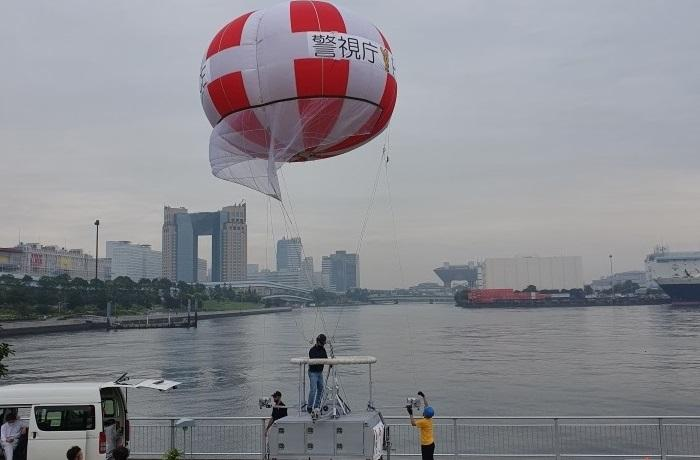Aerostat systems of Israel's RT deployed for Tokyo Olympic, Paralympic Games