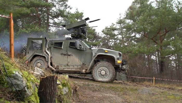 Slovenian Army successfully fires Rafael's Spike LR missiles