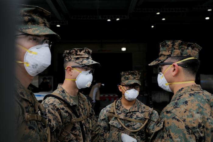 COVID-19 Masks Now Mandatory at US Defense Dept Facilities Worldwide