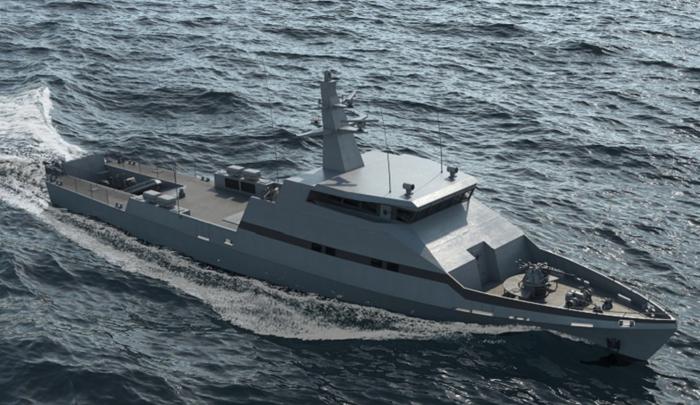Новый сторожевой катер компании «Израильские судоверфи» – OPV-45