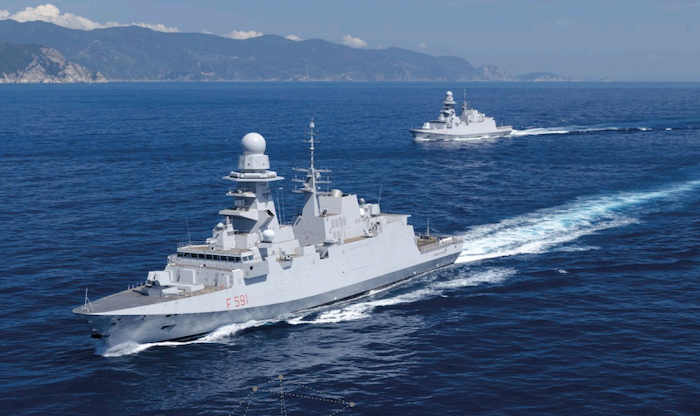 Egypt orders two frigates from Italy