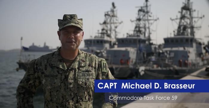 """שת""""פ ימי בין בחריין לבין כוח משימה אמריקני לשמירה על המפרץ הפרסי"""