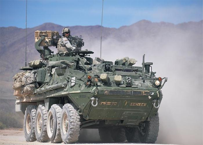 General Dynamics gets Stryker support contract