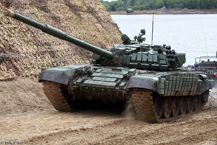Russia starts delivering T-72B1MS 'White Eagle' tanks to Serbia