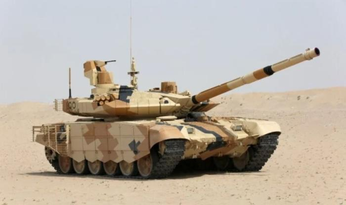 Egypt Reportedly Signs Contract for 500 Russian T-90MS Tanks