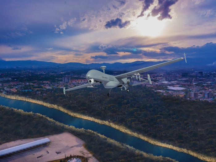 IAI Unveils New Tactical UAV