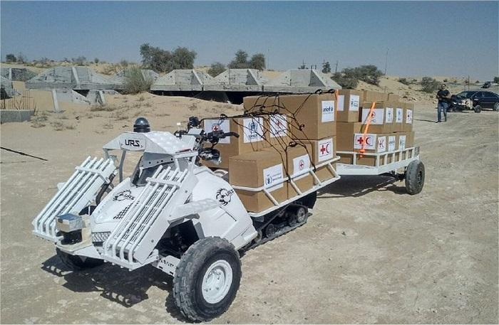 חברת URS Labs מאבו דאבי פיתחה רכב לא מאויש למשימות לוגיסטיות
