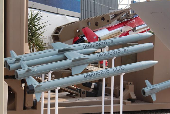 מצרים רוצה לרכוש טילים מדרום אפריקה עבור פריגטות