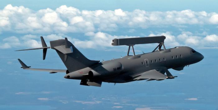 חברת סאאב מסרה לאיחוד האמירויות מטוס ביון ראשון
