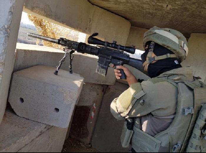 """צלפים של מג""""ב בפעולה בגבול עזה"""