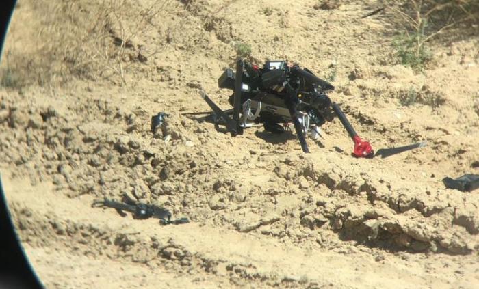 לראשונה: חמאס השתמש ברחפן מטיל פצצות
