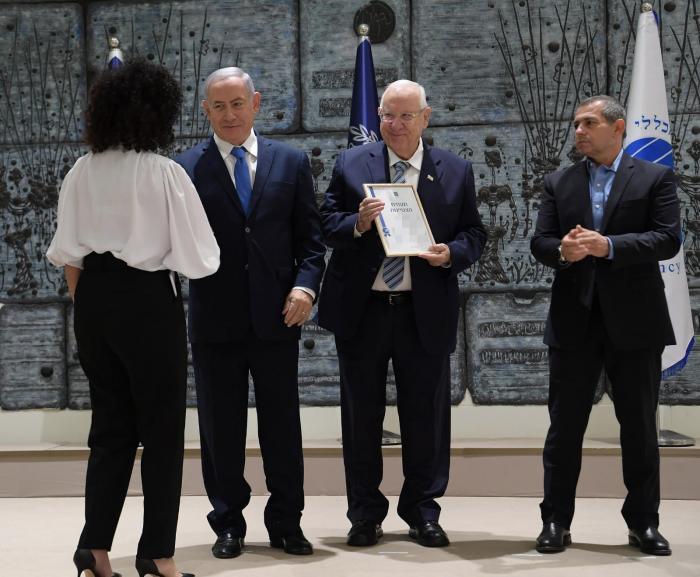 """ריבלין העניק תעודות למצטייני השב""""כ: """"לכידת רוצחי החייל מצטרפת לאין ספור הצלחות"""""""