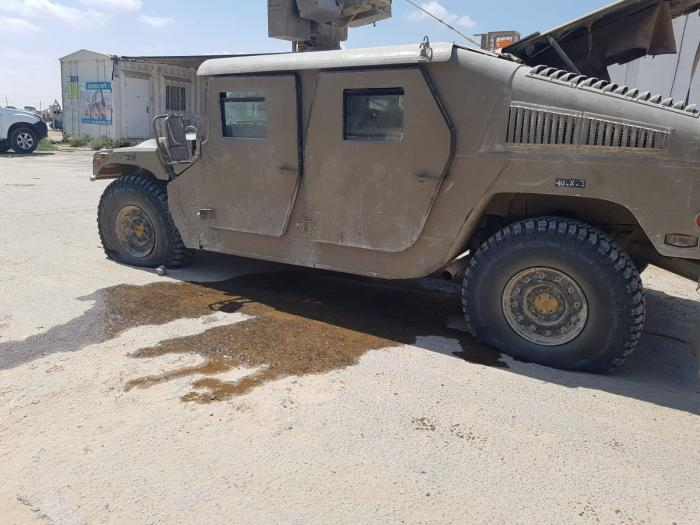 רחפן פלסטיני הטיל מטען בגבול הרצועה