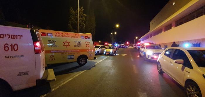 На месте теракта в Иерусалиме. МАДА