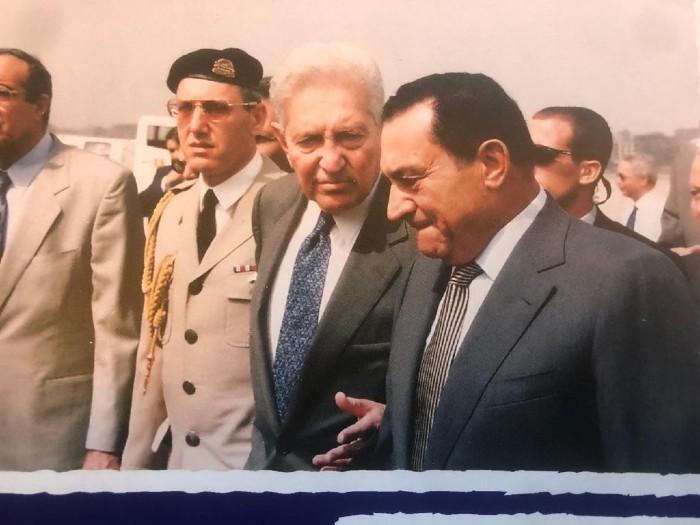 החבר מובארק: המנהיג הערבי שהבין את מהות פירמידת השלום