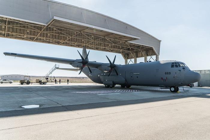 Iaf Takes Delivery Of Seventh C 130j Super Hercules Israel