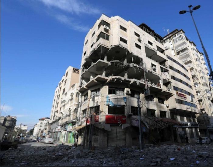 """צה""""ל הפציץ את מטה הסייבר של חמאס בעזה"""