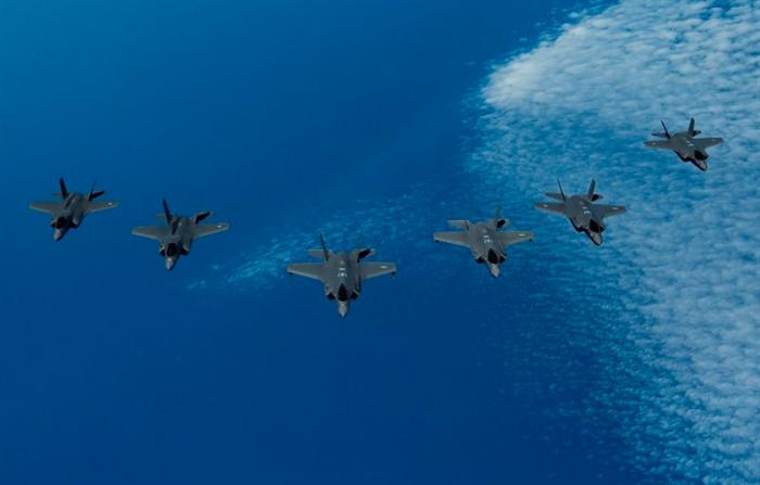 Israel, US, UK Hold First Joint F-35 Exercise