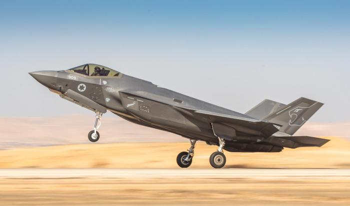 IAF receives additional stealth fighters