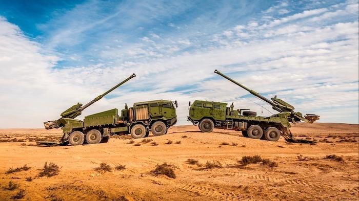 Армия США провела испытания израильской САУ ATMOS
