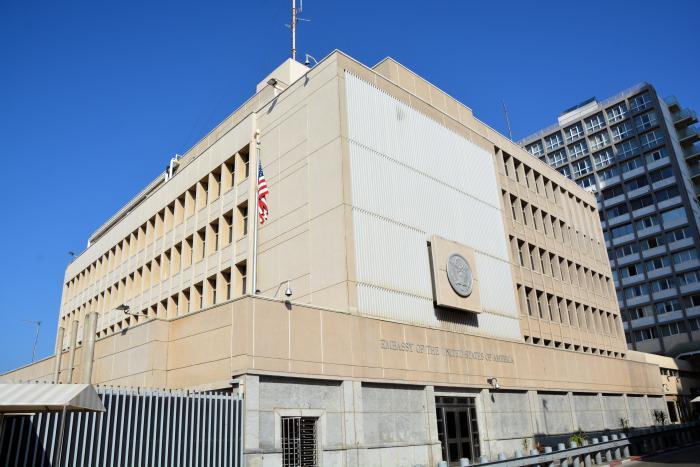"""העברת שגרירות ארה""""ב לירושלים"""