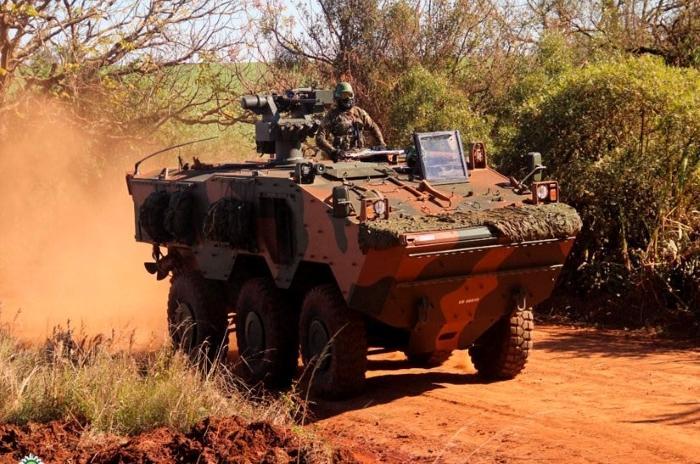 Elbit starts delivering Guarani APCs to Ghana