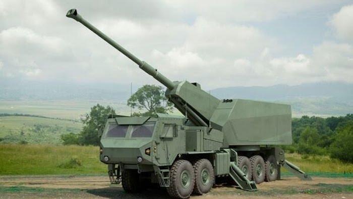 אלביט חושפת גרסת ייצוא של התותח הצה״לי