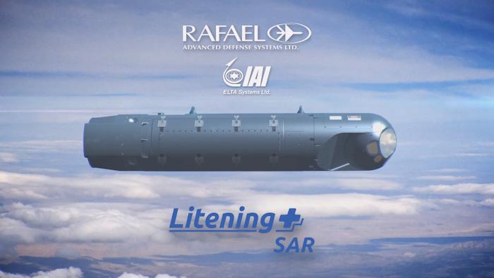 רפאל משיקה גרסת פוד לייטנינג עם SAR של תעשייה אווירית