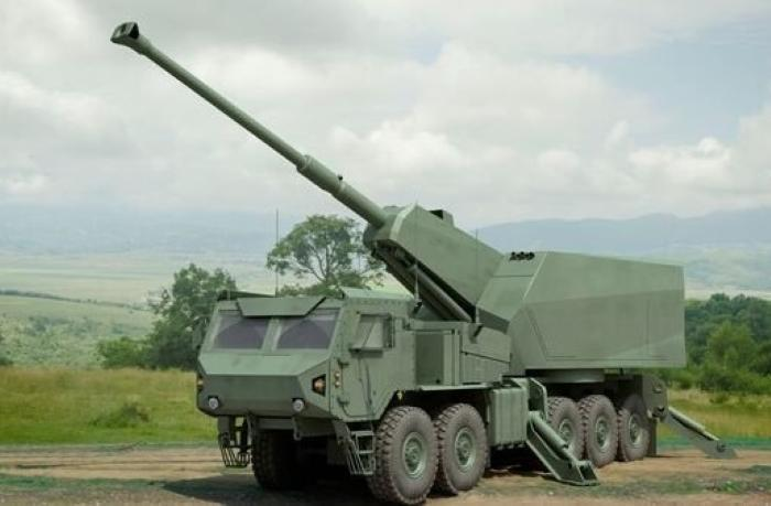 Elbit develops the SIGMA, a new 155mm artillery system