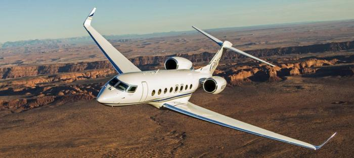 Elbit Systems to Supply DIRCM Systems for a VIP Gulfstream G650 Aircraft