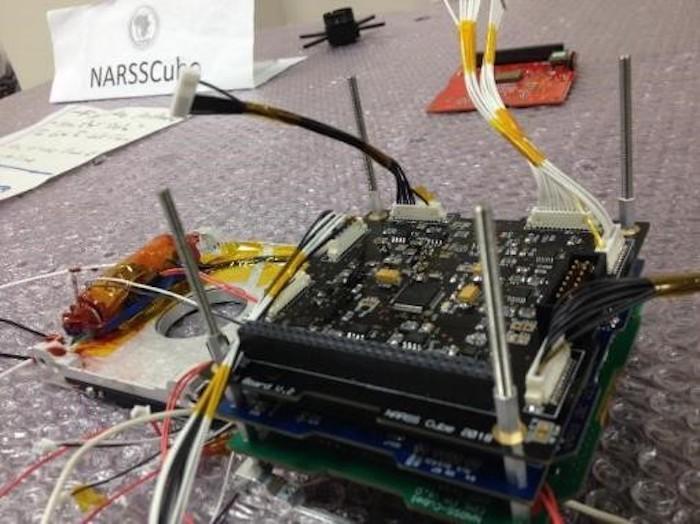 מצרים שיגרה CubeSat ראשון
