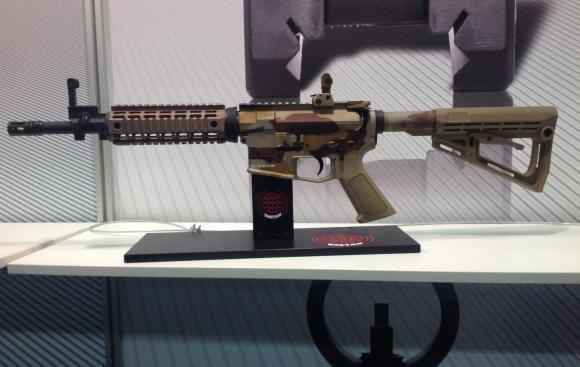 New Israeli Rifle Exposed at IWA 2015