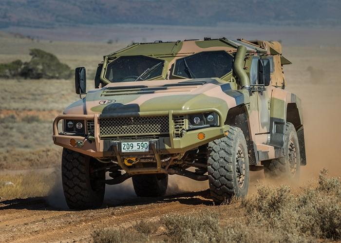 Australia's Hawkei light protected vehicle approved for full-rate production