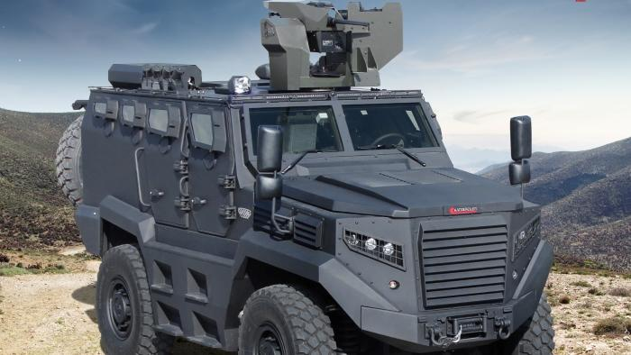 Kenyan Army to get almost 120 Hizir armored vehicles from Turkey's Katmerciler