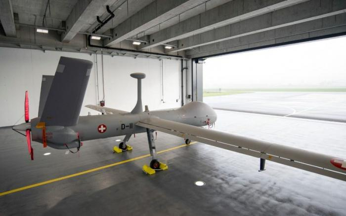 Switzerland Receives First Hermes 900 UAS from Elbit Systems