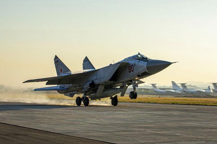 Russian MiG-31 fighters arrive in Syria for exercises
