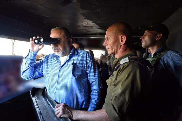 Lieberman: Israel Hit 'Nearly All' Iranian Military Sites in Syria