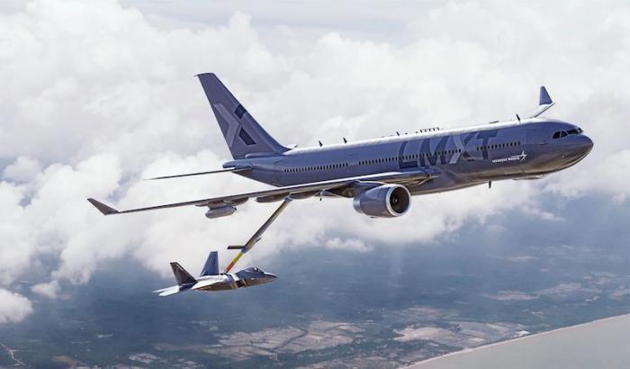 לוקהיד מרטין מפתחת מטוס תדלוק אווירי חדש