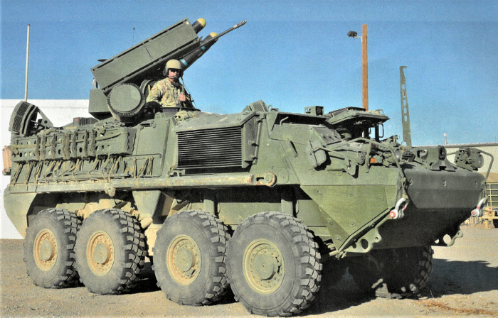 Dozens more radars from Israel's Rada to be installed on US Army M-SHORAD vehicles