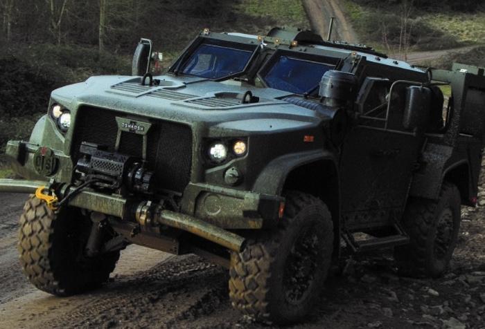 Brazilian military acquiring Oshkosh JLTVs